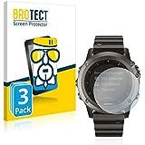 BROTECT Protection Ecran Verre Compatible avec Garmin Fenix 3 [3 Pièces] - Protecteur Vitre 9H, AirGlass