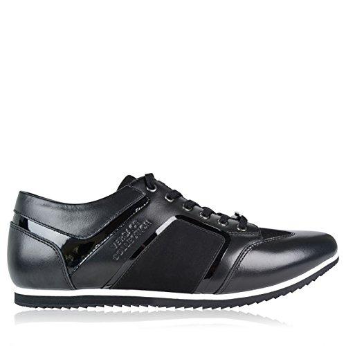 versace-herren-logo-tab-turnschuhe-fashion-sportschuhe-sneaker-freizeit-leder-schuhe-schwarz-8-41