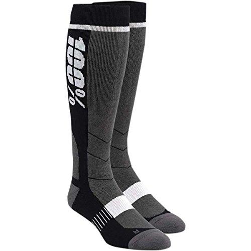 100% Socken Hi-Side Schwarz Gr. S/M