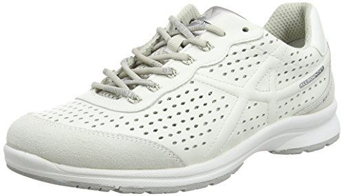 Allrounder by Mephisto Dagma C.suede 30/S.leather 30 Damen Sneakers Weiß (WHITE/WHITE)