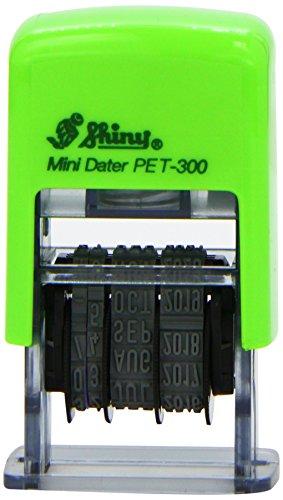 Mini timbro autoinchiostrante con data
