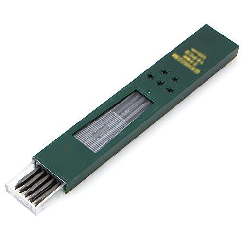 Timmershabi (10X Leads) 2B HB Schwarz 2,0 mm Bleistiftmine Nachfüllen 2.0Pencil Lead