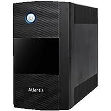 Atlantis Land OnePower S1000LE 1200VA Torre Negro sistema de alimentación ininterrumpida (UPS) - Fuente de alimentación continua (UPS) (1200 VA, 600 W, 162 V, 290 V, 190 V, 245 V)