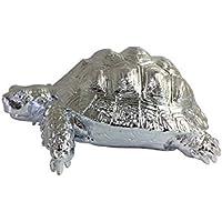 Schildkröte aus Stahl Stahlfigur Deko für Garten und Haus Schildkroete