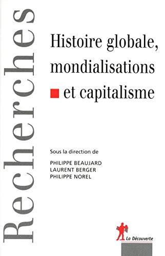Histoire globale, mondialisations et capitalisme par