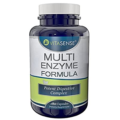 VitaSense Multi Enzyme Formula Tablets - Pack of 60 Tablets from VitaSense