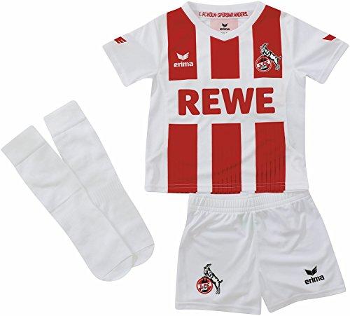 Erima 1. FC Köln Minikit Home 2017/2018 Kleinkinder 80
