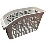 Fridge Storage Collecting Box Refrigerator Organizer Rack - White