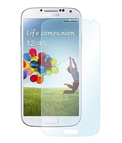 SNOOGG Samsung I9500 Galaxy S4 Full Body Tempered Glass Screen Protector [ Full Body Edge To Edge ] [ Anti Scratch ] [ 2.5D Round Edge] [Hd View] - White  available at amazon for Rs.125