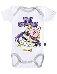 249713a47fd02 Baby Geek Petit Gourmand - Boo - Dragon Ball Super ™ - Licence Officielle -  Body