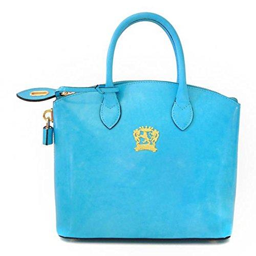 Pratesi Versilia R petit sac - R348/P Radica (Noir) Bleu clair