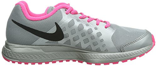 Nike Zoom Pegasus 31 Flash unisex erwachsene, canvas, sneaker low Black/Reflect Silver