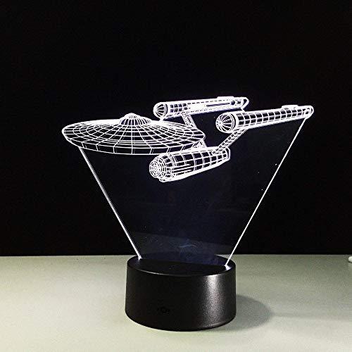 3D Nachtlicht Jungen Mädchen Toy Creative Vision Schreibtischlampe LED Neuheiten (LWEEHNF)