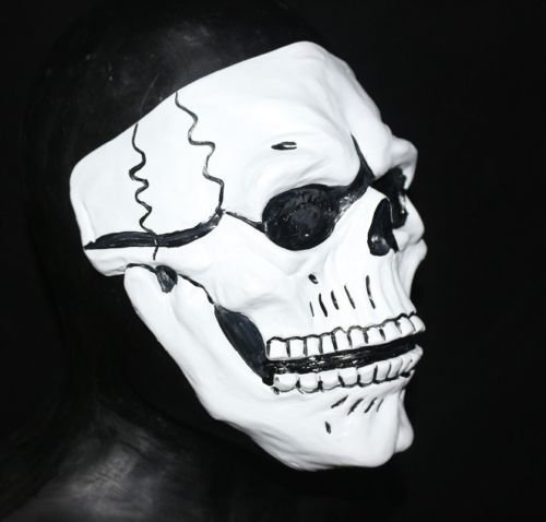 Tag der Toten Latex Schädel Maske Dia de los muertos Spectre Kostüm Moving Mund von Coopers Fancy Dress