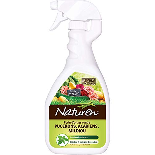 Naturen purin di ortiche Pronto all' Occupazione Contro Afidi, Acari, peronospora 750 ml