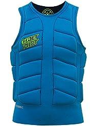 Jet Pilot CK Elite Jersey Reversible Comp Vest–Chaleco de neopreno, chaleco de protección frente, salvavidas, wakeboard Chaleco/Chaleco reversible azul o negro/Varios Tamaños, unisex, XL