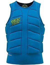 Jet Pilot CK Elite Jersey Reversible Comp Vest–Chaleco de neopreno, chaleco de protección frente, salvavidas, wakeboard Chaleco/Chaleco reversible azul o negro/Varios Tamaños, unisex, M