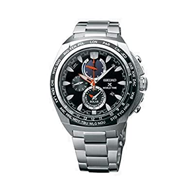 Seiko-Reloj de pulsera hombre cronógrafo cuarzo acero inoxidable ssc487p1