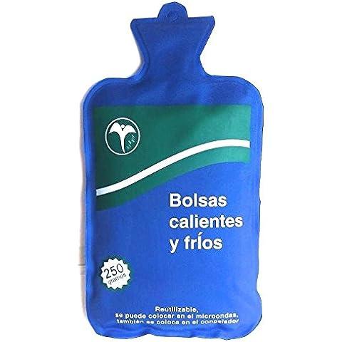 Bolsa de gel para aplicar frio o calor dolores musculares reutilizable 250 grs