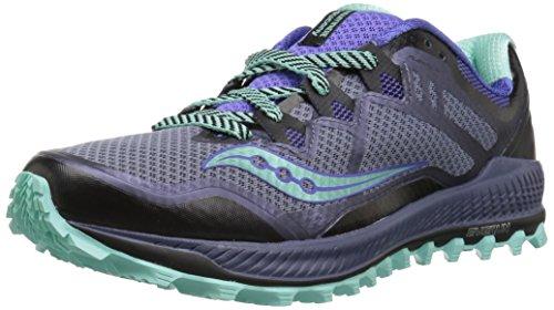 Saucony Peregrine 8 Women's Shoe Gray Size : 38.5 segunda mano  Se entrega en toda España
