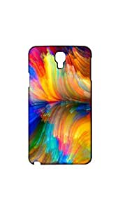 Brush Painted Designer Mobile Back Case/Cover For Samsung Galaxy NOTE 3 NEO