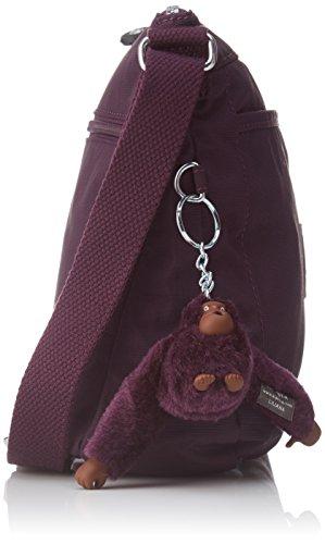 Kipling - Moyelle, Borse a tracolla Donna Viola (Plum Purple)