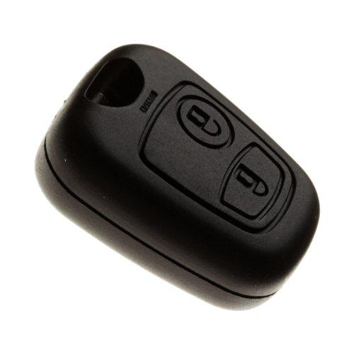 Jongo kscrn02C 1Schlüssel Gehäuse ohne Klinge hochwertigem für ersetzen Schutzhülle-Schlüssel 2Tasten Öffnung/Schließung der Türen