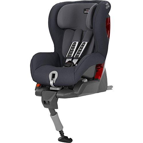 Britax Römer Autositz SAFEFIX PLUS, Gruppe 1 (9 - 18 kg), Kollektion 2018, storm grey