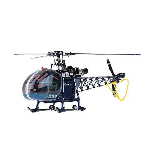 *Walkera 4F200LM Hohe Simulation 2.4G 6CH 3D 3 Achsen RC Flybarless Helikopter w Devo 7 Übermittler*