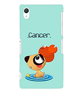 TOUCHNER (TN) Cancer Back Case Cover for Sony Xperia Z2::Sony Xperia Z2 L50W D6502 D6503