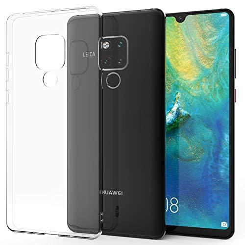 Caseflex Huawei Mate 20X Hülle, Transparent Silikon - Ultra Dünn und Klar - [Slim Fit] [Anti-Shock] [Kratzfest] Durchsichtig Gel Hülle für Huawei Mate 20 X - Crystal Clear - CS000108HU