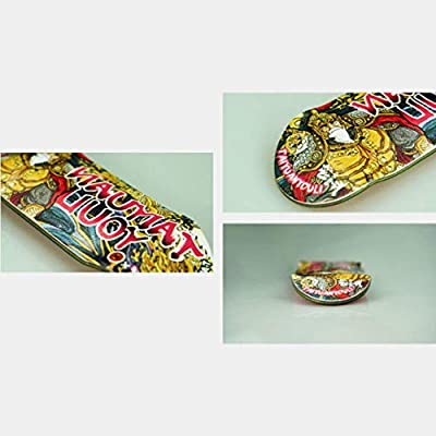 WJH9 Mini Skateboard Spielzeug, NEU 2020 Professional FSB Finger Skate Boarding Kleines Alloy komplett aus Holz Ahorn-Spielzeug-Set Bike-Board mit Zubehör,f