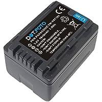 Dot.Foto Batterie de qualité pour Panasonic VW-VBT190 - 3,6v / 1940mAh - Entièrement 100% compatibles - garantie de 2 ans [Pour la compatibilité voir la description]
