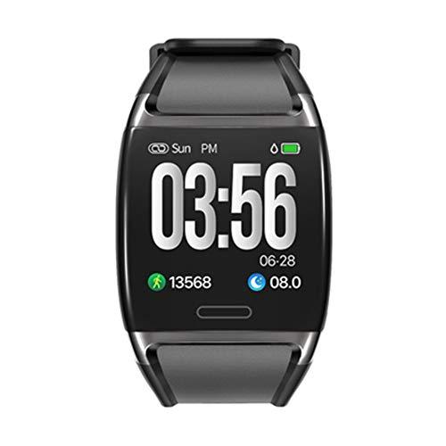 JIEGEGE Fitness Tracker Smart Watch, Aktivitäts-Tracker Mit Herzfrequenzmesser, IP67 Wasserdichtes Fitness-Band Mit Blutdruck, Step, Für Kinder, Frauen Und Männer (Hohem Blutdruck Mit Unten)