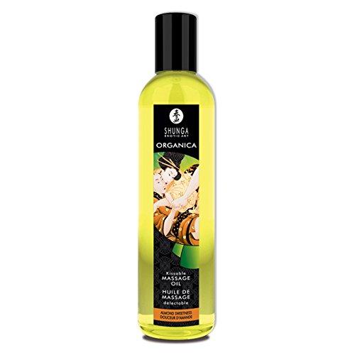 SHUNGA Huile de Massage Biologique Douceur d'Amande 250 ml