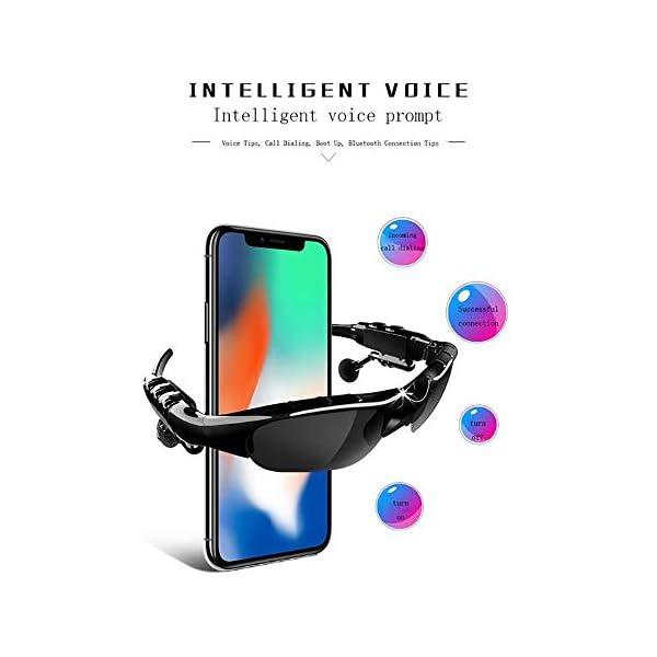 Bluetooth para Auriculares, Lentes De Conducción Lente De Los Anteojos De Sol De Ciclo De La Visión para iPhone 7… 5