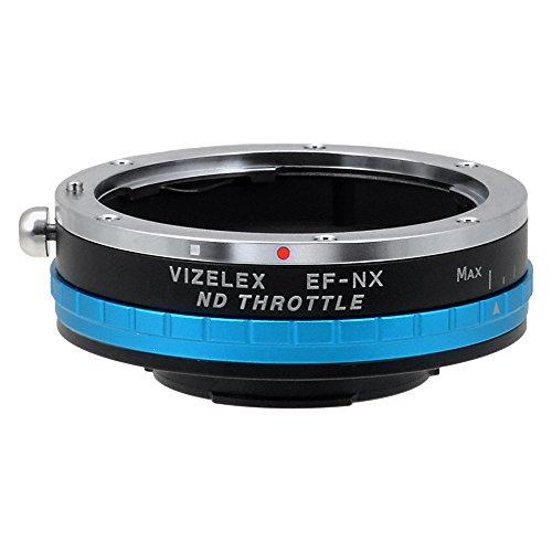 Fotodiox Pro vizelex ND Acelerador–Adaptador de Objetivo Canon EOS a Samsung NX–Cámara con Filtro ND Variable Integrado nd2-nd1000