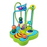 Oyfel. Jeu Boulier Bois Jeux Montessori Circuit de Motricité Activité Cube Perle...