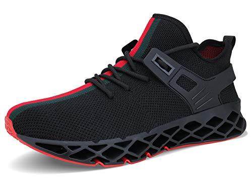 �nner Atmungsaktiv Mode Lässig Stilvolle Turnschuhe Sportlich Springblade Walking Big Size Schuhe ()