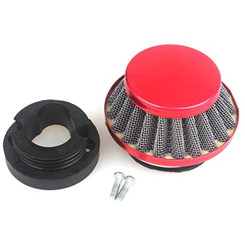 Wingsmoto 42 mm Luftfilter 47 cc 49 cc 2 Takt Super Pocket Bike Upgrade Kit Mini Dirt Bike ATV Quad Aluminium Luftfilter Set
