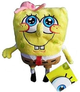 Spongebob With Jelly Fish - Spongebob Con Medusa - Peluche 20 Cm.