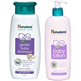 Himalaya Baby Shampoo (400 ml) and Herbals Lotion (400ml) Combo