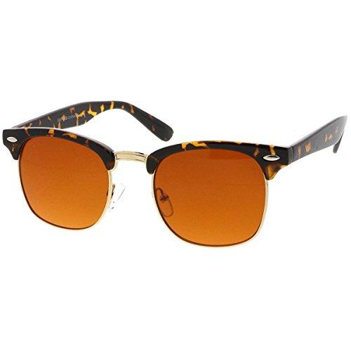 Kiss Sonnenbrille BLUE BLOCKER mod. DANDY Cult - gelben Gläsern vs. Licht Blau HIPSTER mann frau nerd VINTAGE - HAVANNA