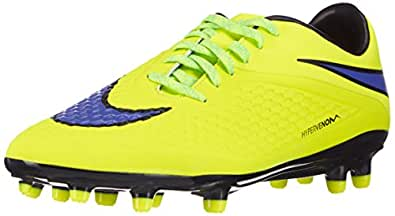 Nike Hypervenom Phelon FG, Herren Fußballschuhe, Gelb (Volt/Persian Violet-Ht Lv-Blck 758), 43 EU