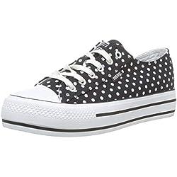 MTNG Attitude 69574, Zapatillas para Mujer, (Canvas3 Point Negro C45992), 39 EU