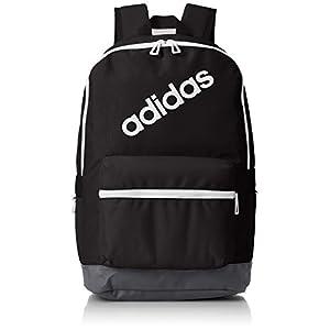 adidas BP Daily Mochila, Hombre, Negro (Negro/Carbon/Blanco), 24x36x45 cm (W x H x L)
