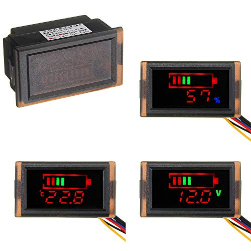 LaDicha Autobatterie-Spannungsanzeige 12V Turn 5V Buck Modul Dual USB Car Power Versorgung