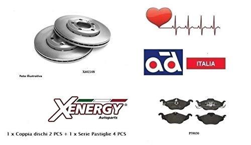Dischi + Pastiglie Freno Xenergy