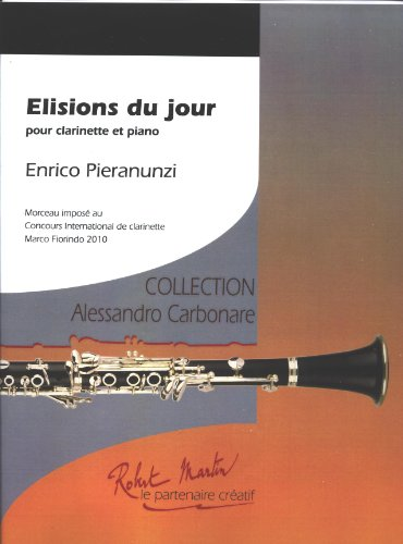 Elisions du jour pour clarinette et piano