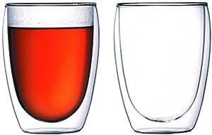 Bodum PAVINA Double Walled Thermo Glasses 0.45 L, 15 oz, Pair